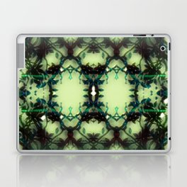 Green Thorns Laptop & iPad Skin