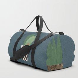 Paper Plants in Vases Duffle Bag