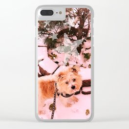 Notorious Ruth Bader Ginsburg the doggo Clear iPhone Case
