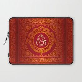 Hindu Elephant Pattern (Shree Ganesh) Laptop Sleeve