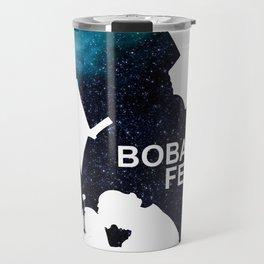 Star War Boba Fett - galaxy  Travel Mug