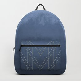 Moods in Blue-Gray Backpack