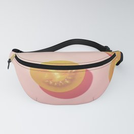 #5_Yellow Tomatoes in pink Fanny Pack