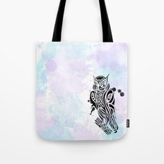 Owl Tribal Tote Bag