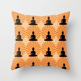 Buddha Dawn Throw Pillow