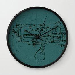 FW - 190 (Colour) Wall Clock
