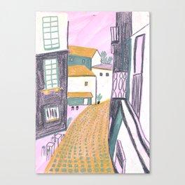 Terrasse Canvas Print