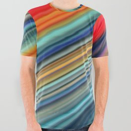 Color Wave ~001~ All Over Graphic Tee
