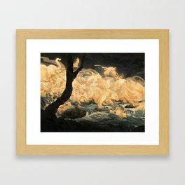 Hunter's Call Framed Art Print