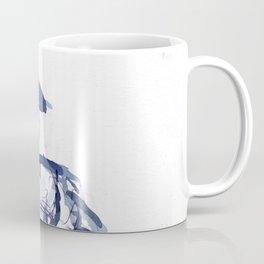 cross you're legs and wait. with Jun Coffee Mug