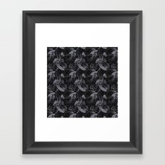 Tentacle Pattern Framed Art Print