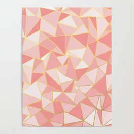 Ab Out Blush Gold Poster