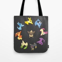 Eevee Evolutions Tote Bag