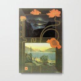 Vintage poster - Lago di Como Metal Print