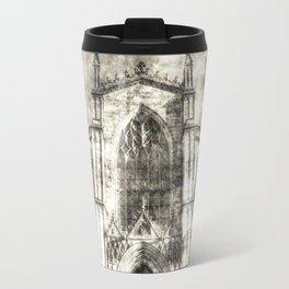 St Giles Cathedral Edinburgh Vintage Travel Mug