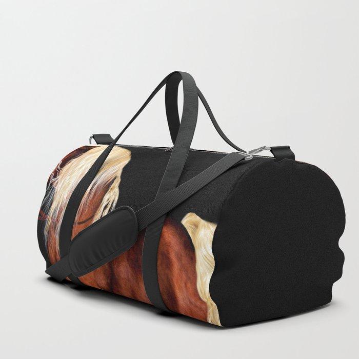 HORSE - Black Forest Duffle Bag