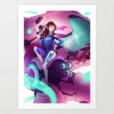 DVa Art Print