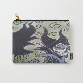 Maleficent Sugar Skull Carry-All Pouch