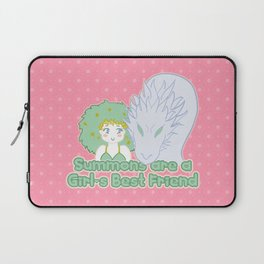 Summons are a Girl's Best Friend Laptop Sleeve