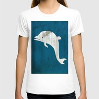 dolphin T-shirts featuring Dolphin by Renato Armignacco
