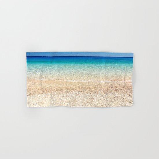 Aqua Water Beach Hand & Bath Towel