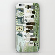 Ice Cream Queue iPhone & iPod Skin