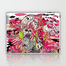 black peak mountain Laptop & iPad Skin
