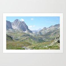 High Valley Art Print