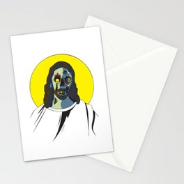 Zombie Jesus Stationery Cards