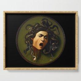 Merisi da Caravaggio - Medusa Serving Tray