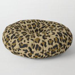 Leopard Print Pattern Floor Pillow
