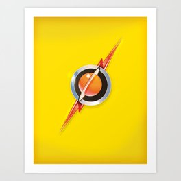 Flash's Broach Art Print