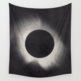 Solar Corona Eclipse of 1919 Wall Tapestry