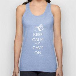 Keep Calm Cavy On Unisex Tank Top