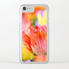 Magic of spring Clear iPhone Case