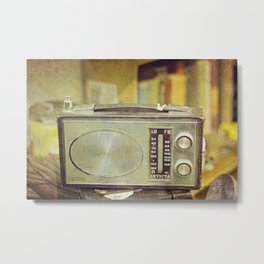 "Sundays with Grandma  - ""Analog zine"" Metal Print"