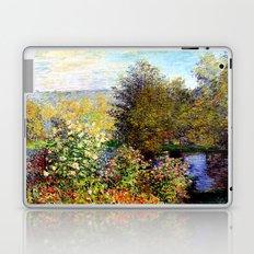 Claude Monet : A Corner of the Garden at Montgeron Laptop & iPad Skin