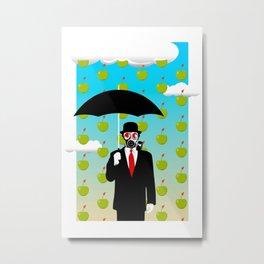 Umbrella Man Metal Print