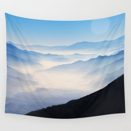 Inhale Wall Tapestry