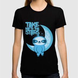 Moon Sloth takes you to the Stars T-shirt