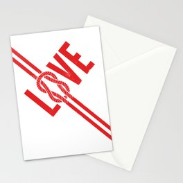 Love Knot (Red) Stationery Cards