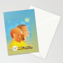 Breaking Bad Retro Design Graphic  Stationery Cards