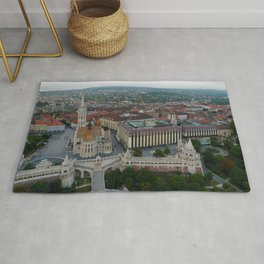 Photography, Budapest, Hungary,  Architecture, Parliament Rug