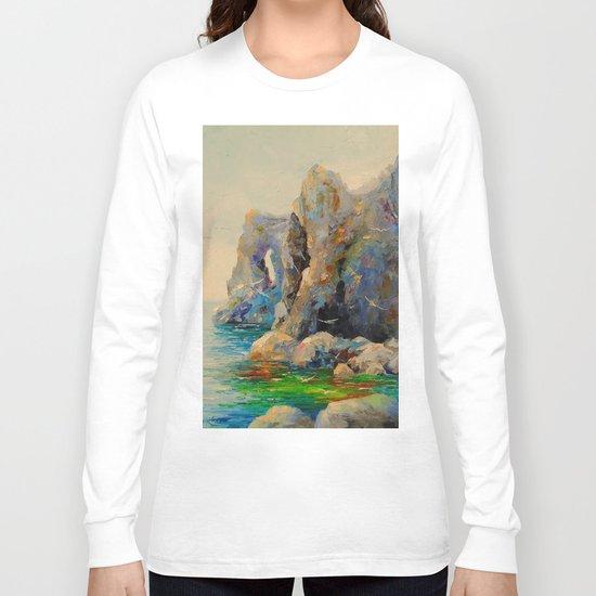 Rocks on the beach Long Sleeve T-shirt