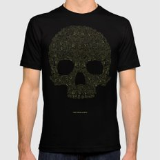 FROM HELL Mens Fitted Tee Black MEDIUM