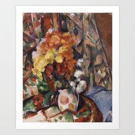 The Flowered Vase Art Print