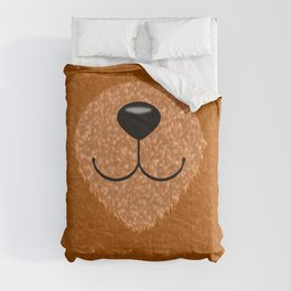 Teddy Bear Nose and Mouth Comforters