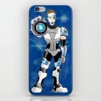 liam payne iPhone & iPod Skins featuring Liam Payne - Cyborg by allthreeplease