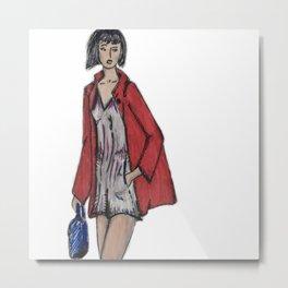 Designer Illustration  Metal Print