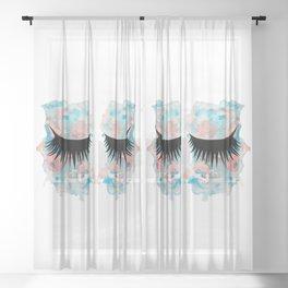 Eyes 2 Sheer Curtain